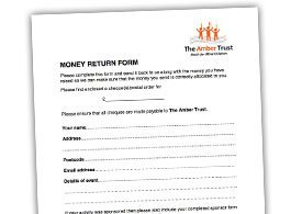 Money Return Form