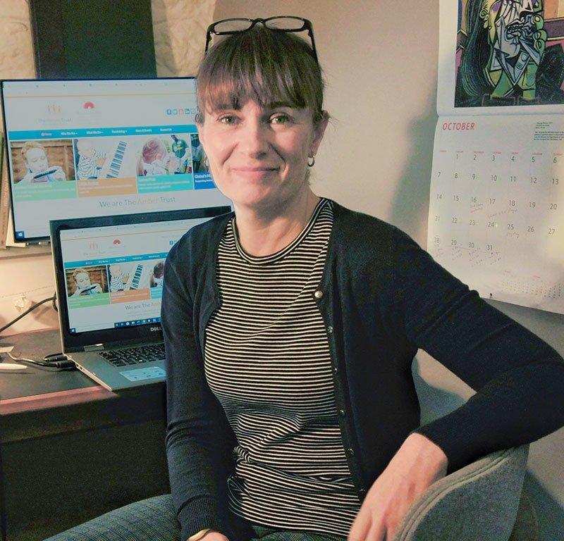 Anni Martin CEO at her desk