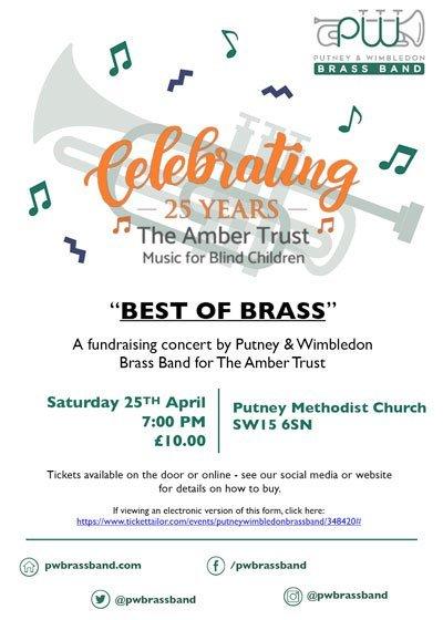 best of brass event flyer